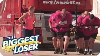 30 Tonnen-LKW ziehen: Die schwerste Challenge aller Zeiten! 2/2 | The Biggest Loser 2019 | SAT.1