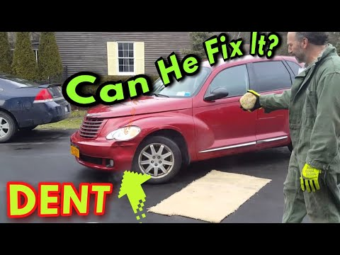 How To Fix a Dent In Car With Just Water! (life hack that actually works!)