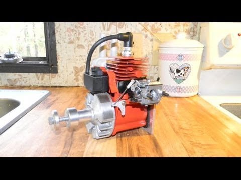 HOMELITE 25CC ORANGE RC AIRPLANE ENGINE BY DR TUNE!
