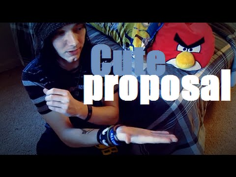 Cute Way To Propose To Your Girlfriend