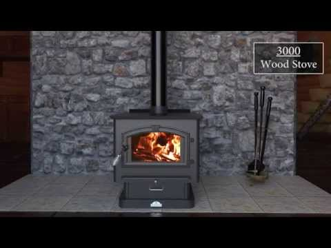 3000 Wood Stove Feature Video
