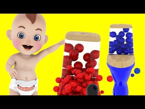 Learn Colors for Kids with 3D Colors Toilet and Cute Poop - Colours for Children