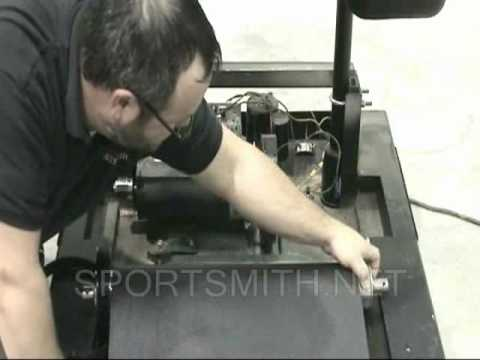 How to Change a Star Trac 4000 Treadmill Running  Belt and Deck