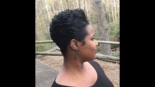 How To Maintain A Pixie Cut Relaxed Short Hair Hair Tutorial