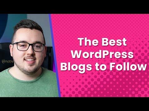 The Best WordPress Blogs to Follow