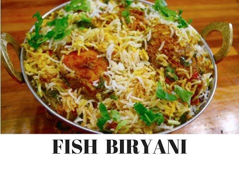 Fish Biryani Recipe | Kingfish Biryani video | Indian Fish Biryani complete meal | Curry for theSoul