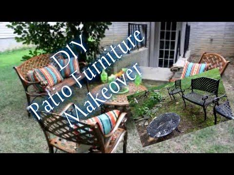 DIY Patio Furniture Makeover | I Am TeeJaay #HomeEdition