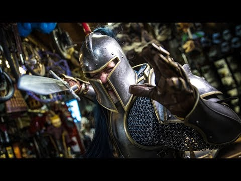 Adam Savage's New Warcraft Armor!