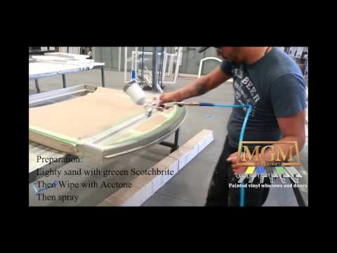 How to paint PVC and/or vinyl windows