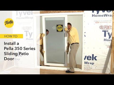 How to Install 350 Series Sliding Patio Door