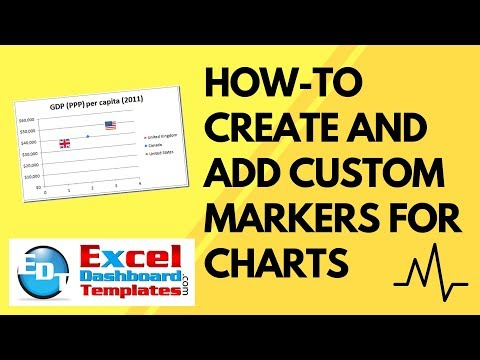 How-to Create and Add Custom Markers for Excel Charts