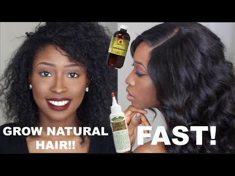 HOW TO GROW LONG HAIR WITH WIG / PROTECTIVE STYLES 2017