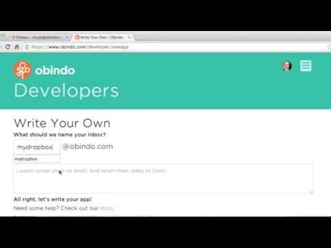 Create your own email integration on the Obindo platform