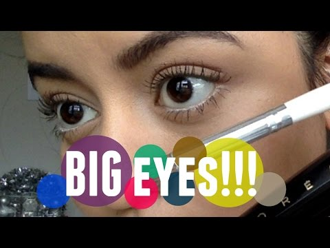 BIG EYES! MAKE UP TUTORIAL