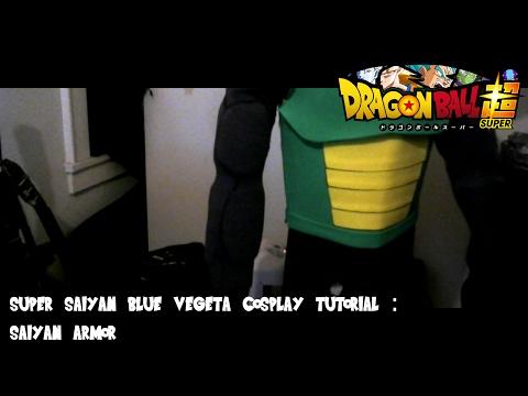 Super Saiyan Blue Vegeta Tutorial : Saiyan Armor Timelapse