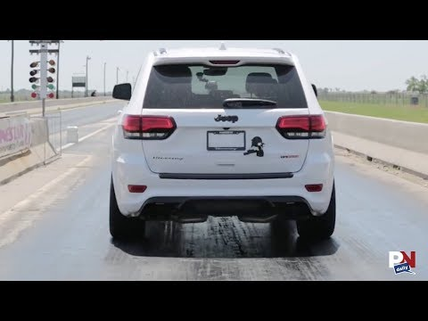 The Jeep Trackhawk Hit 0-60 In Under 3 Seconds