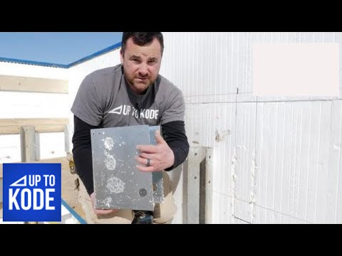 ICF Floor Systems : How to Install Open Web Joists on an ICF Wall Using Lavann Hanger's