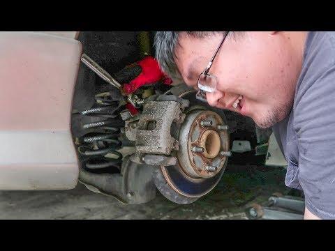 Mazda 3 Rear Brake Replacement