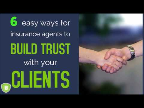 6 easy ways to Build Customer Trust as an Insurance Agent