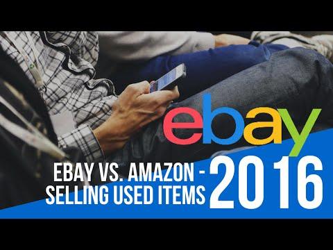 eBay vs. Amazon - Selling Used Items