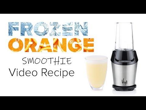 Frozen orange vanilla smoothie recipe