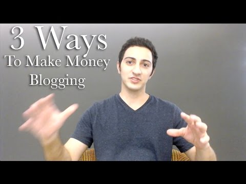 Make Money Blogging - 3 Ways To Make Money Blogging As Fast As Possible For Beginners