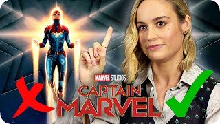 Download Thanos said what?! Brie Larson knows the MCU! | CAPTAIN MARVEL Interview Video