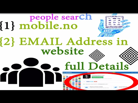 people search - how to find personal information in website {HiNdi}