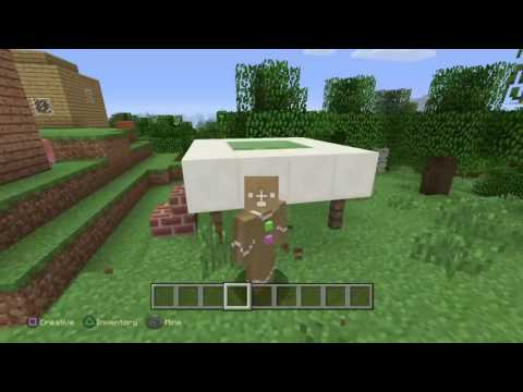 Minecraft ps4 edition #5 building a diamond swimming pool + very tall diving board