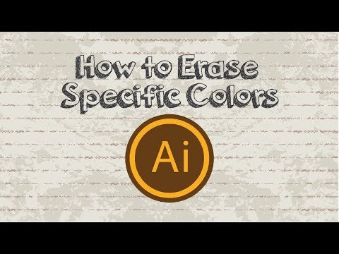 How to Erase Specific Colors in Adobe Illustrator