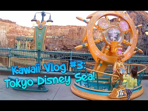 💜Japan VLog 🎠: Tokyo Disney Sea Japan!