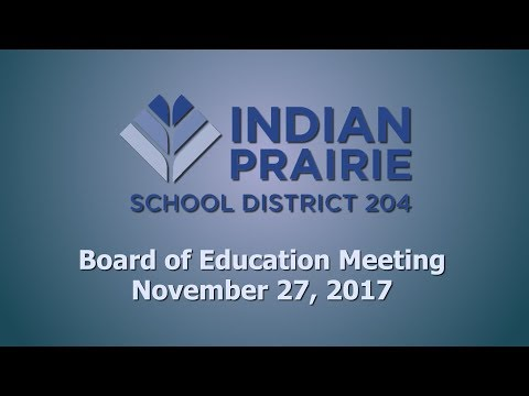 School Board Meeting: 11/27/2017