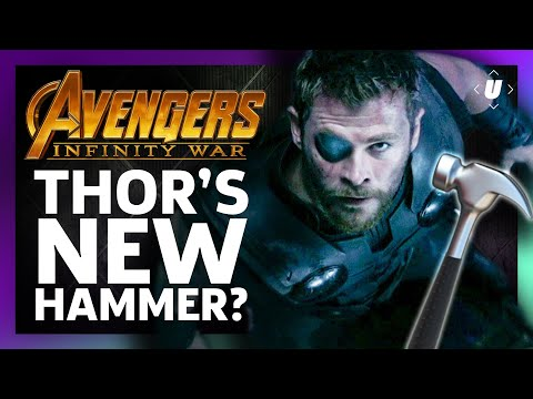 What The Hell Is Thor's New Infinity War Hammer?