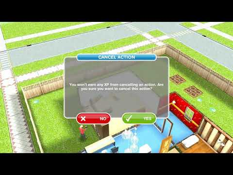 The Sims Freeplay - A Quest For Toddlers / Change A Diaper