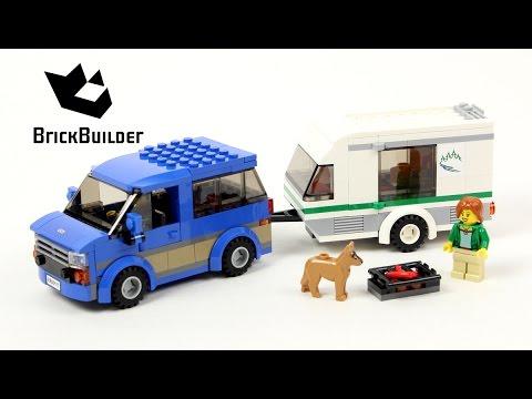 Lego City 60117 Van & Caravan - Lego Speed Build