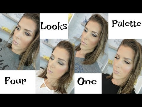 Four Looks Using the Persona Identity Eyeshadow Palette | Mandy Davis MUA