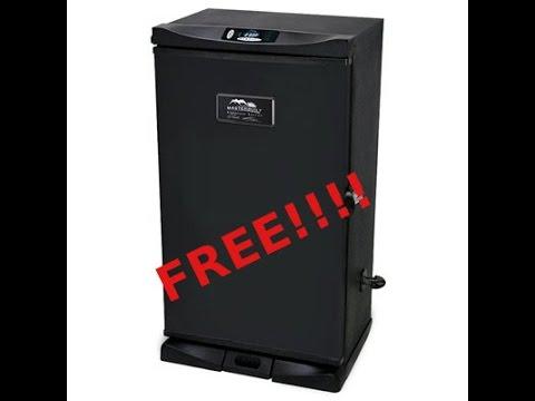 Free smoker?  Hell yeah!!