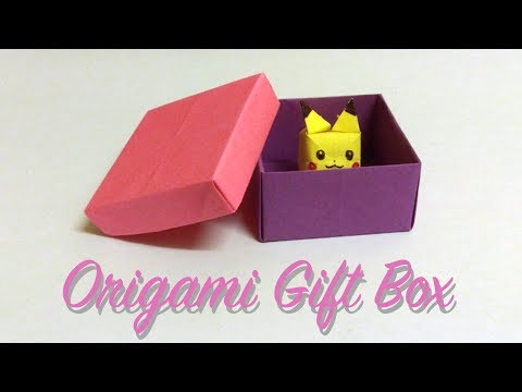 How to make Easy Origami Gift Box