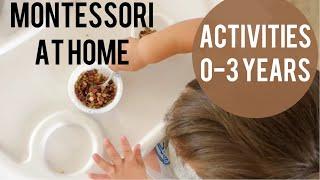Montessori At Home | Activities 0-3 Years Old | Montessori Baby
