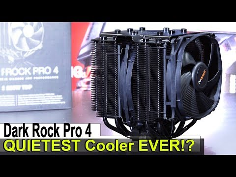 The QUIETEST Cooler I EVER Tested! -- be quiet! Dark Rock Pro 4