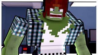 Minecraft - O AUTHENTIC VIROU UM ZUMBI MUTANTE !!