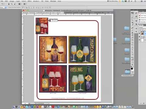 Photoshop Tips - Using Contact Sheet II to create art portfolios and tear sheets