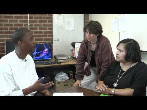 Students discuss their different learning styles
