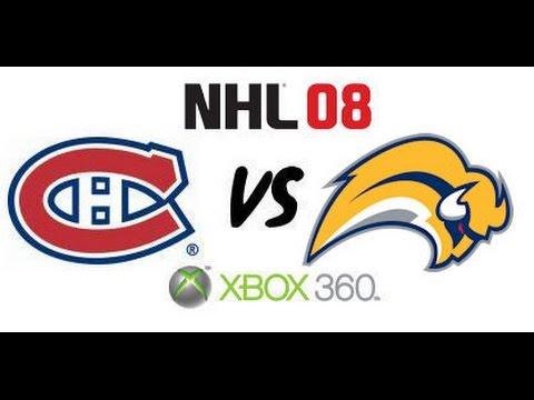 NHL 08 - Montreal Canadiens vs Buffalo Sabres