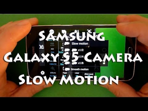 Samsung Galaxy S5 Camera - Slow Motion Feature