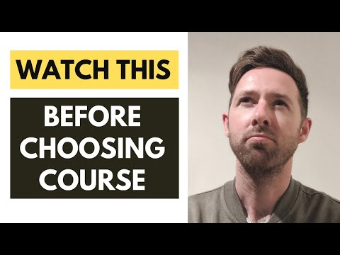 Choosing the right college course