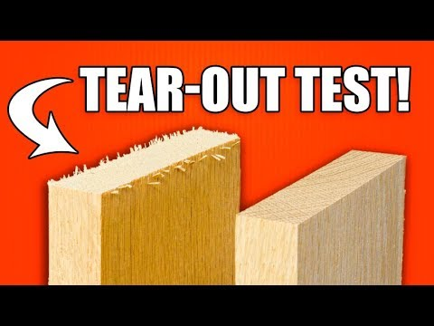 Table Saw Inserts: Tear-Out Test on Natural Woods! Fail?!?