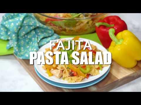 Fajita Pasta Salad Recipe   Amazing Lunch, Dinner, Or Party Side Dish