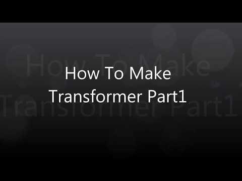DIY audio transformer making part1