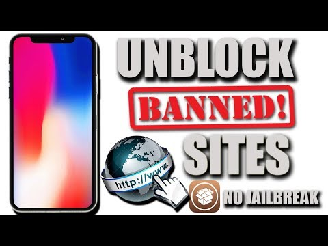 How to unblock blocked/banned sites on iphone/ipad/ipod (Get free vpn -simple)